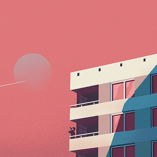 blok illustration marcin wolski